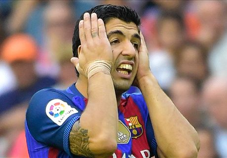 No Suarez in Clasico combined XI