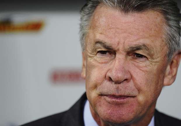 Switzerland coach Ottmar Hitzfeld