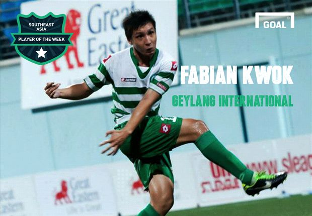 Goal Southeast Asia Player of the Week: Fabian Kwok