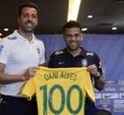 Histórico! Dani Alves, novo 'centenário' da Seleção