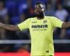 Villarreal striker Cedric Bakambu