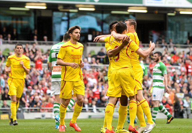 Shamrock Rovers 0-4 Liverpool: Premier League runners-up outclass Irish