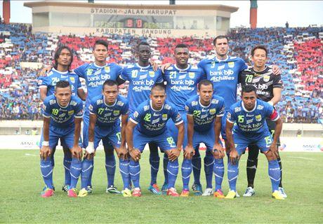 FT: Persib Bandung 5-0 Persijap Jepara