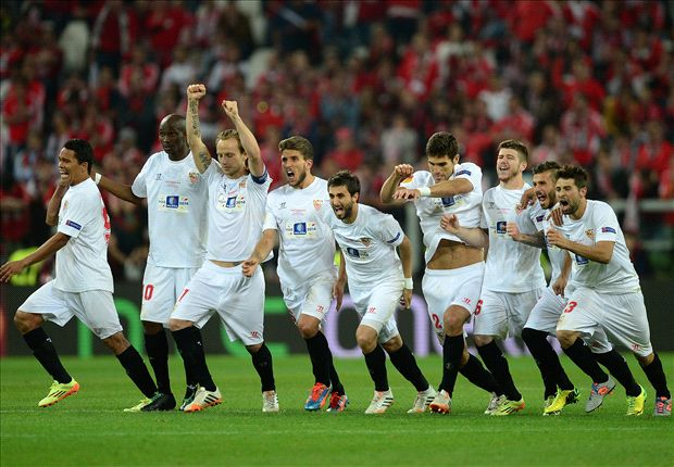 Sevilla 0-0 Benfica (4-2 pens): Gameiro the hero in shootout drama