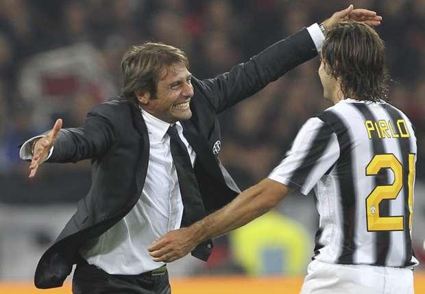Pirlo: I hope Conte stays at Juventus