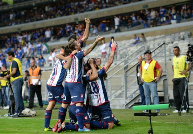 El conjunto de Boedo eliminó a Cruzeiro en cuartos, hace ya dos meses.