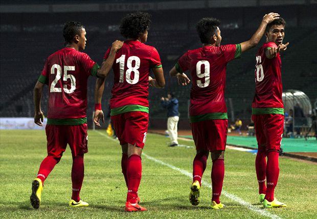 Timnas Indonesia U-23 harus puas dengan hasil imbang melawan Arema.