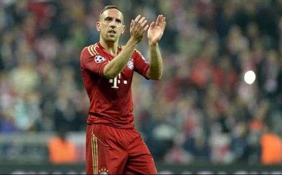 Agen Bola - Frank Ribery Kembali Latihan