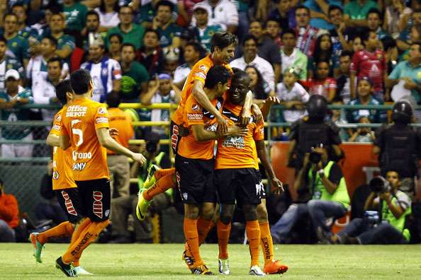 Leon 2-3 Pachuca: Valencia double leads Pachuca to first-leg win