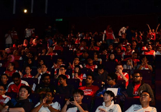 Malaysian Gooners to enjoy cinematic cup final experience