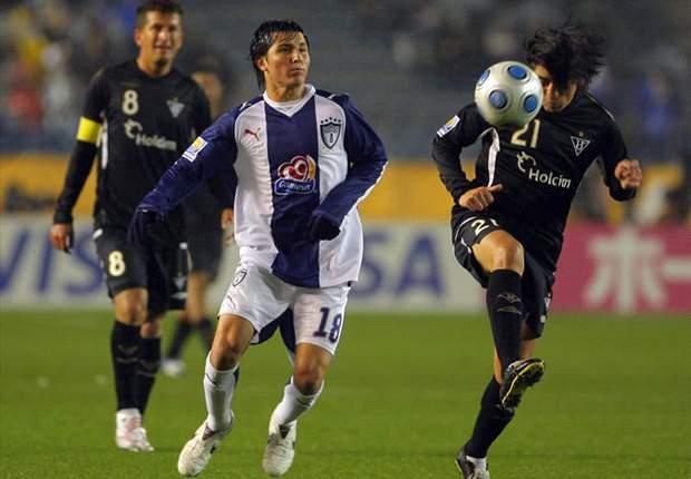 Damián Manso fue presentado en Deportivo Cuenca