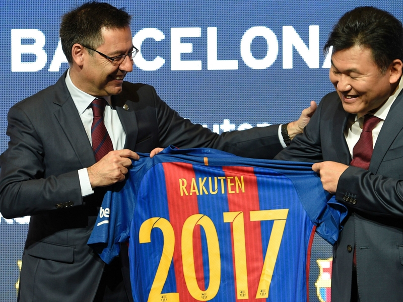 Barcelona sponsorship the key to new Messi deal