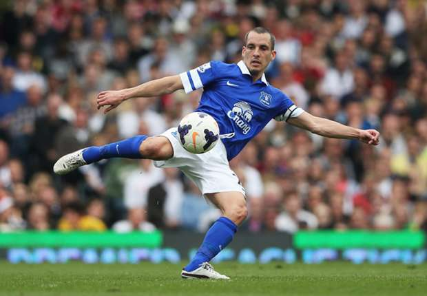 Everton's Leon Osman