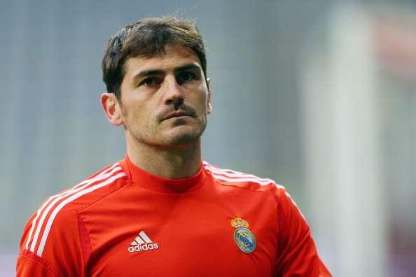 Iker Casillas, portero del Real Madrid
