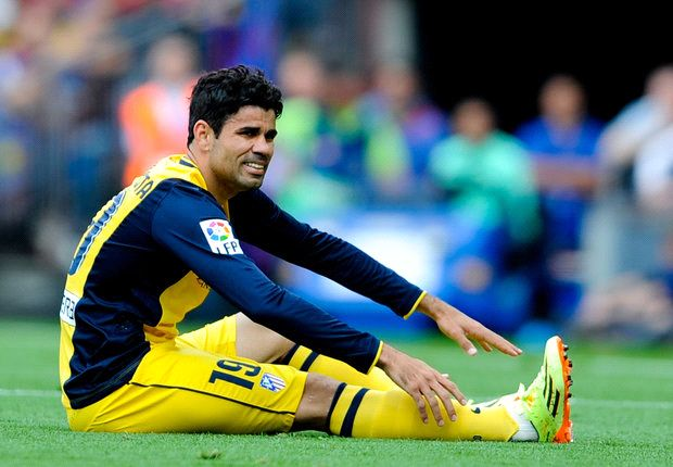 Diego Costa a major doubt for Champions League final