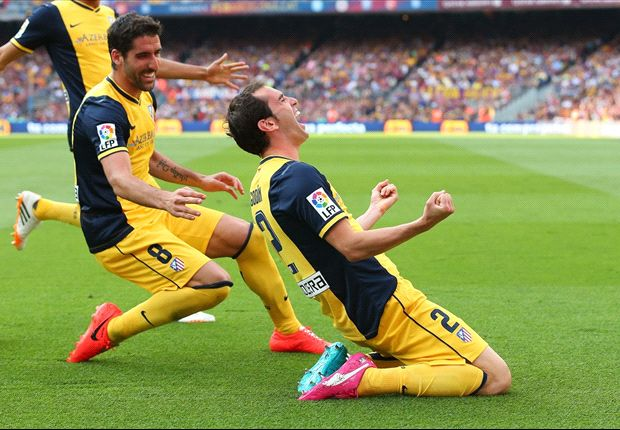Barcelona 1-1 Atletico Madrid: Godin stuns Camp Nou to seal La Liga title glory