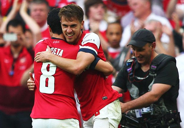 Arsenal 3-2 Hull City (AET): Late Ramsey winner seals FA Cup