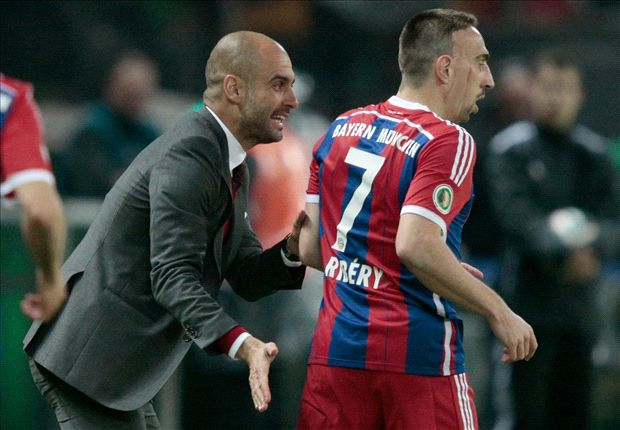 Ribery ready to return, says Guardiola