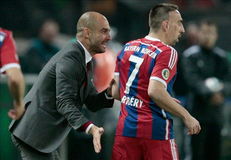 Guardiola: Ribery ready to return