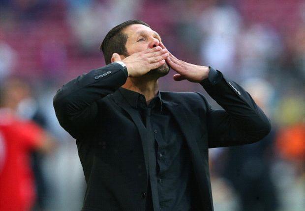 Simeone's impressive work at Atletico