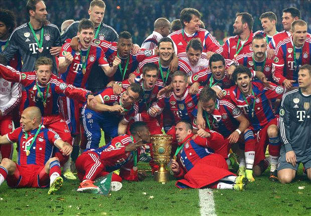 Robben: Bayern have had a superb season