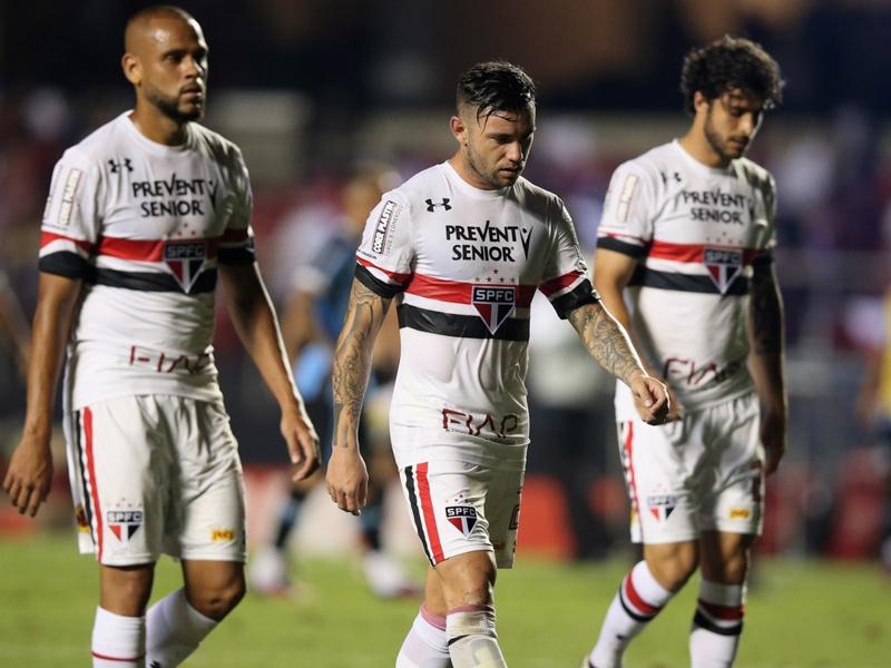 Maicon não perdoa após empate com o Grêmio: