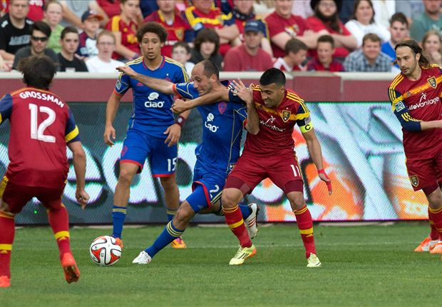 Real Salt Lake 2-1 Colorado Rapids: Morales hits from the spot