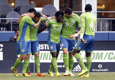 Sounders Chasing Treble