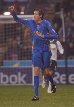 EPL: Peter Crouch, Bolton Wanderers v Portsmouth (PA)
