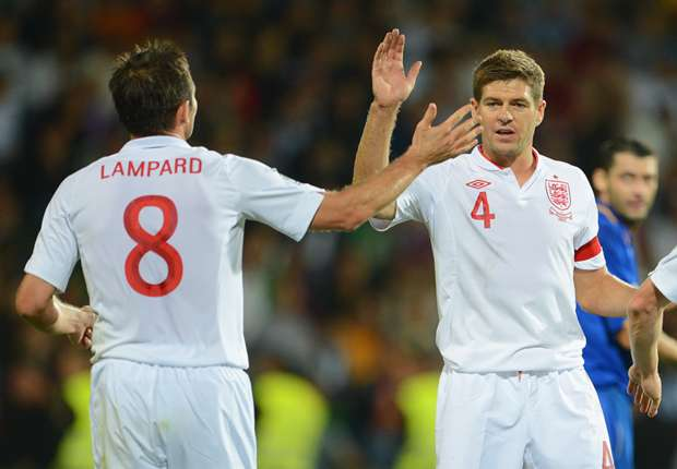 England's 'team for the future' ends with Lampard & Gerrard in midfield