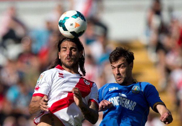 Rayo 1-2 Getafe: El doblete de Ciprian Marica mantiene a los azulones en Primera