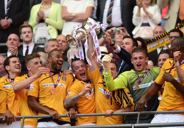 Cambridge United promoted to League Two
