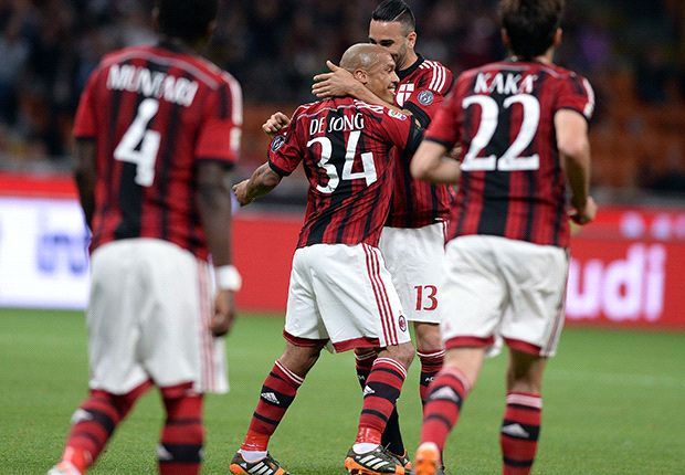 AC Milan 2-1 Sassuolo: Muntari & De Jong strikes not enough for Europe