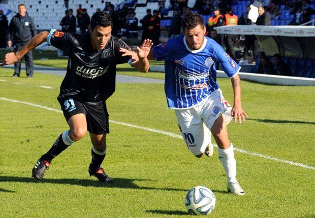 Godoy Cruz derrotó a Racing y se queda en Primera por un año más.