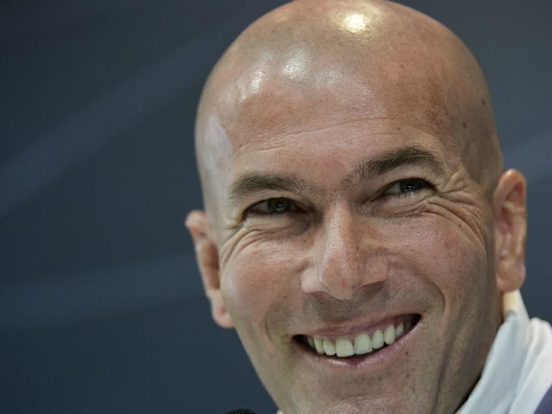 "Real Madrid, Zidane : ""Je ne pense pas au Clasico"""