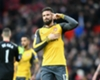 Giroud frustrated with bench role