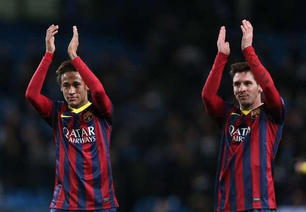 Messi is never Barcelona's problem - Neymar