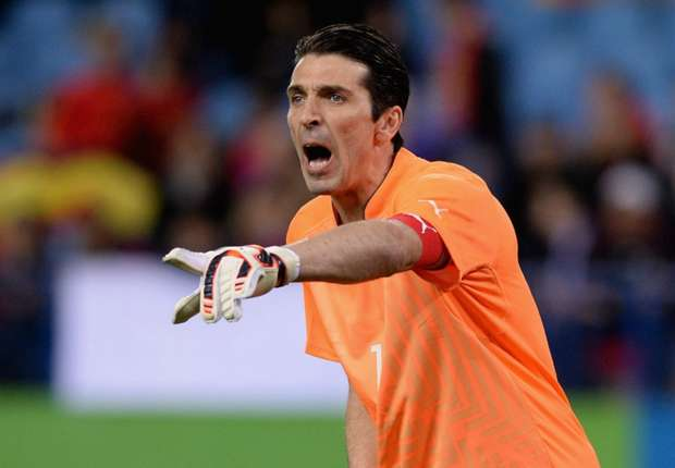 Buffon: Italy a step below World Cup favorites Brazil, Spain, Germany & Argentina