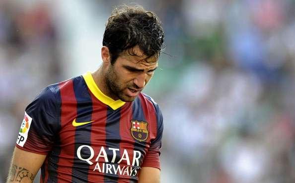 In Barcelona vor dem Absprung? - Cesc Fabregas
