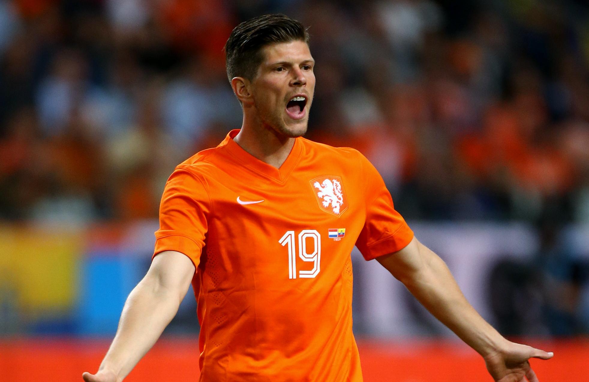 Who can replace Suarez at Liverpool Klaas Jan Huntelaar Goal