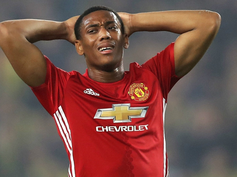 Martial's fading dream - French star struggling to save his Man Utd career