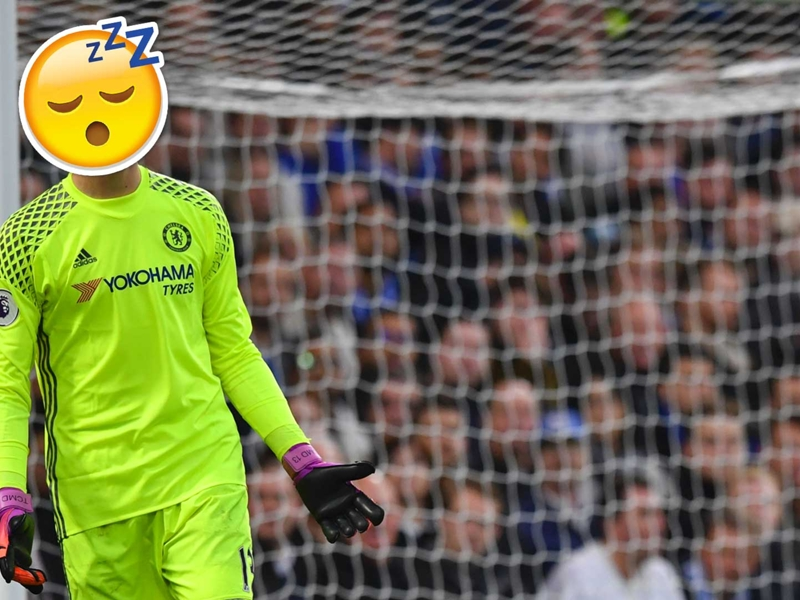 Courtois earning £100,000 per save for Chelsea