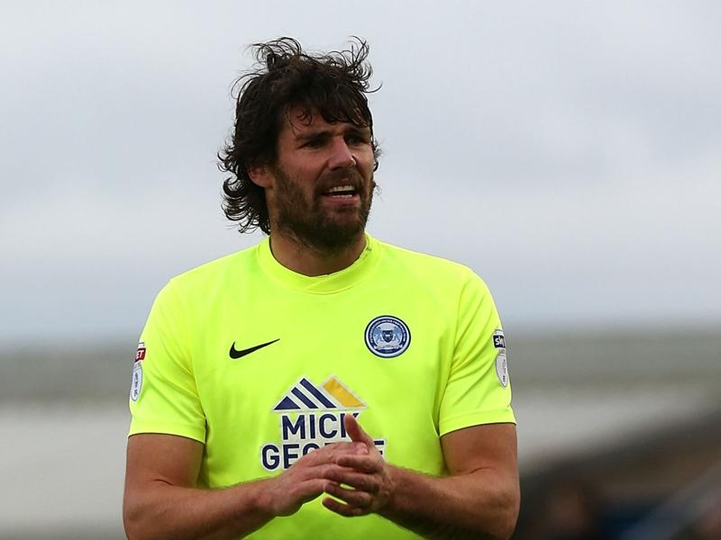 VIDEO: Peterborough player passes to steward