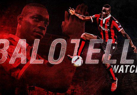 Balotelli aviva los rumores sobre el Napoli