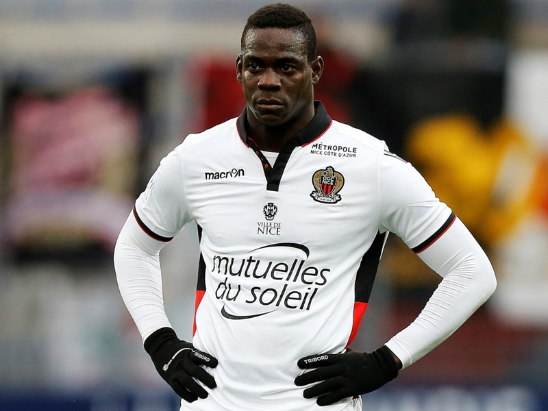 Nice, Balotelli encore absent