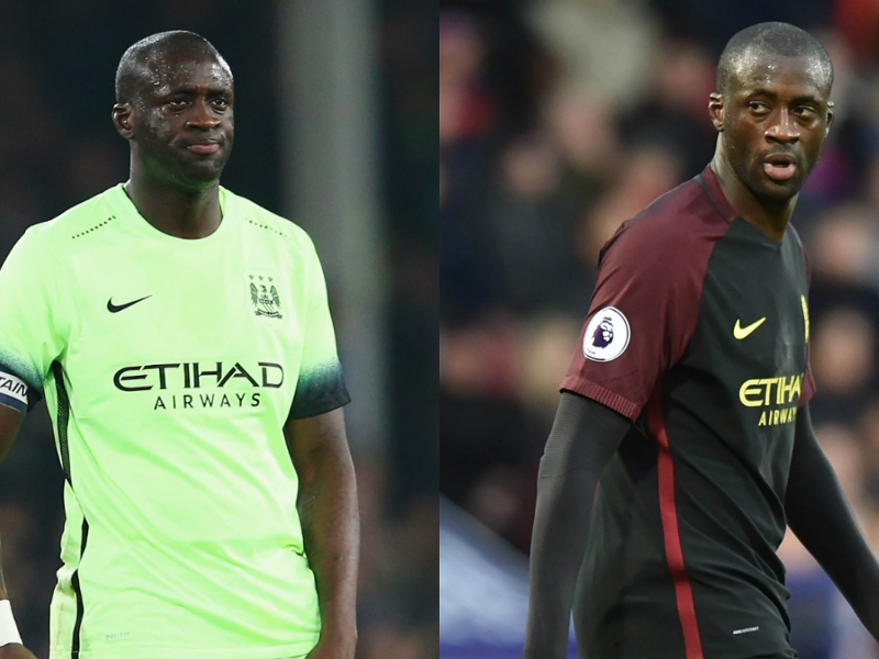 Revealed: How much weight Yaya Toure lost to get back into Guardiola's plans