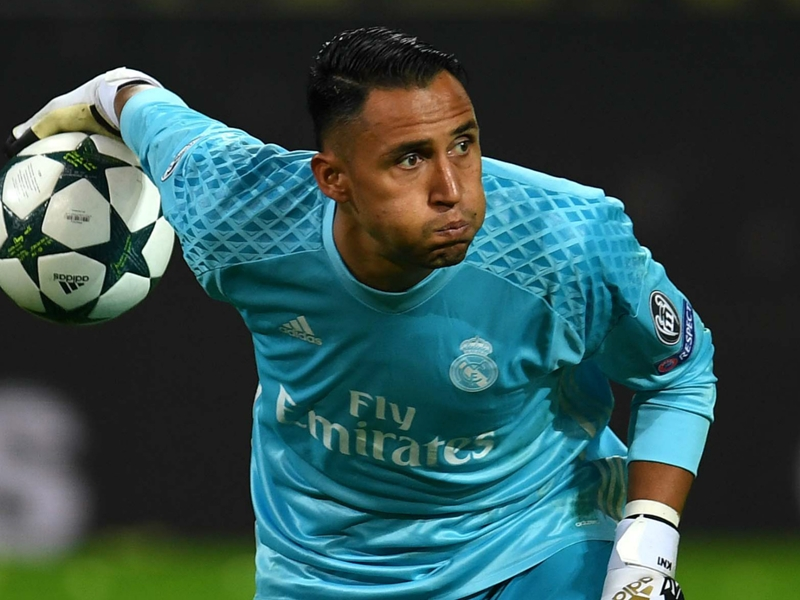 De Gea? Courtois? Real Madrid only thinking of Keylor Navas