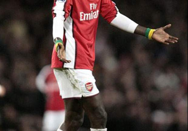 We Are In Discussions With Arsenal Over Adebayor - Manchester City Boss Hughes