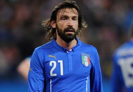 Pirlo voegt zich alsnog bij 'Azzurri'