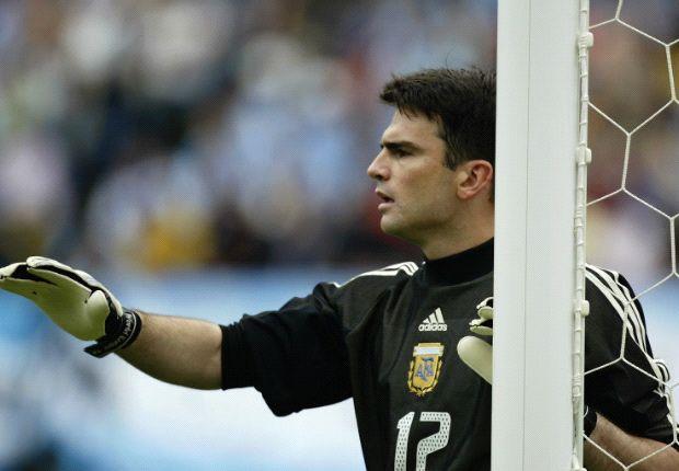 Cavallero atajó en la eliminación de Argentina en el 2002